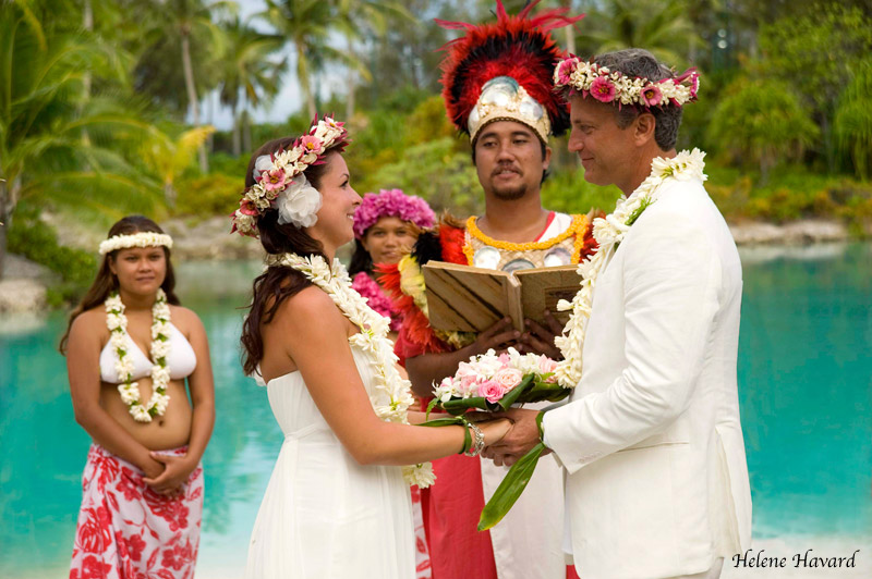 wedding at Bora Bora